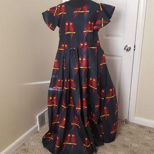 HANDMADE ANKARA AFRICAN DRESS